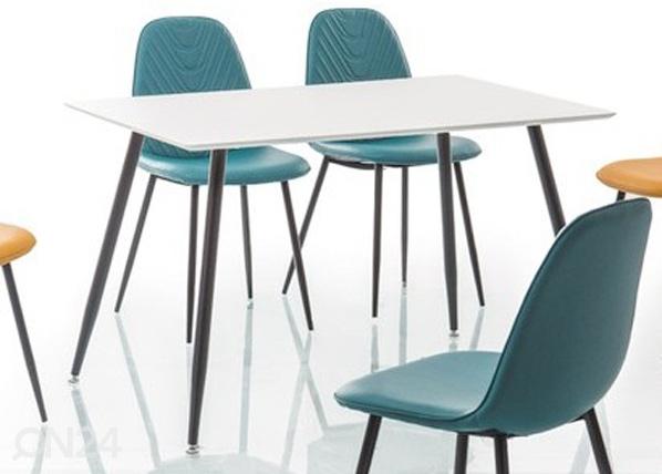 Ruokapöytä FLORO 120x80 cm, Signal