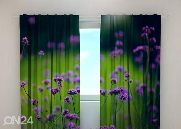 Läpinäkyvä verho FLOWER 5, 240x220 cm, Wellmira