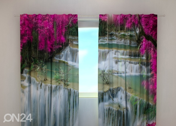 Pimendav kardin Flowers at the waterfall 240x220 cm ED-97948