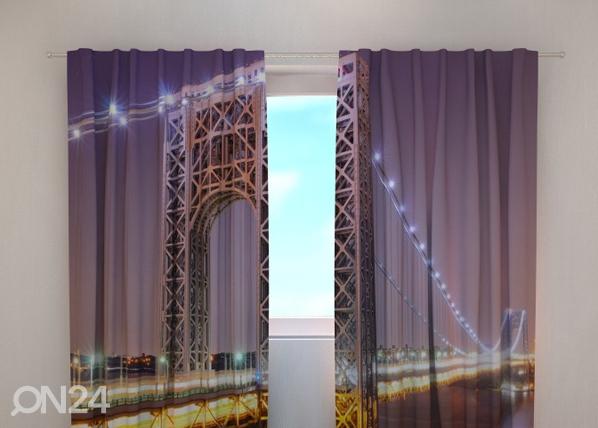 Läpinäkyvä verho G.WASHINGTON BRIDGE 240x220 cm, Wellmira