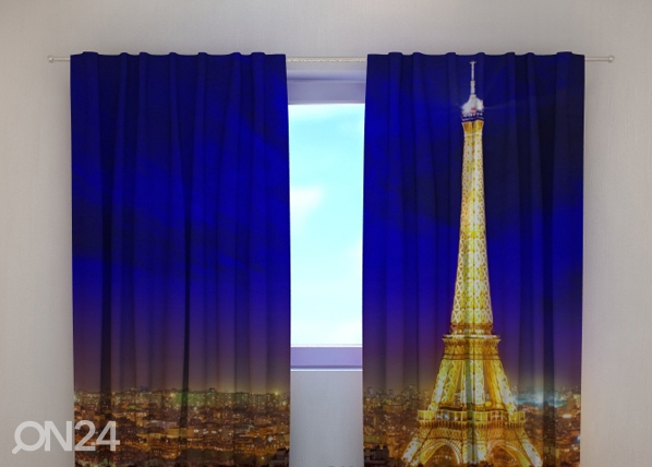 Puolipimentävä verho GLITTER PARIS 240x220 cm ED-98035