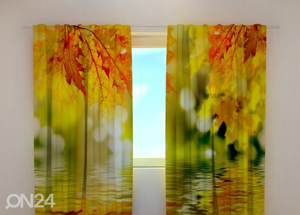 Poolpimendav kardin Golden leaves 240x220 cm ED-98060