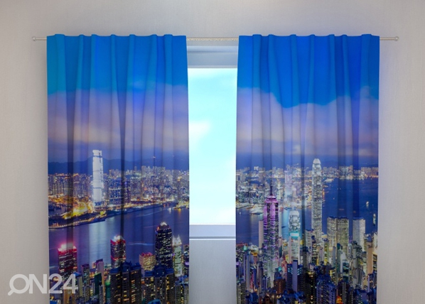 Läpinäkyvä verho HONG KONG 240x220 cm, Wellmira