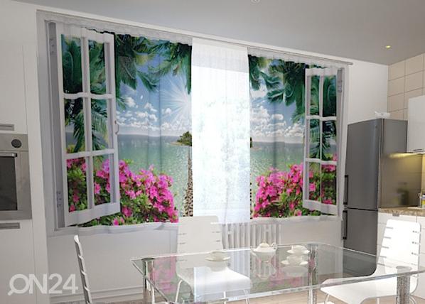 Puolipimentävä verho OPEN WINDOW 200x120 cm, Wellmira