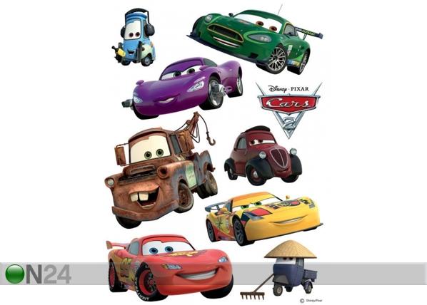 Seinätarra DISNEY CARS 2 McQUEEN AND MATER 42,5x65 cm, AG Design