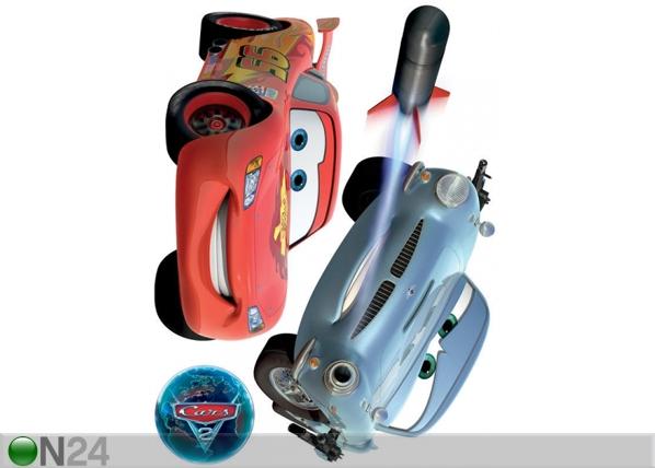 Seinakleebis Disney Cars 2 McQueen and Finn McMissile 65x85 cm ED-98753