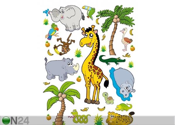Seinakleebis Jungle 65x85 cm ED-98772