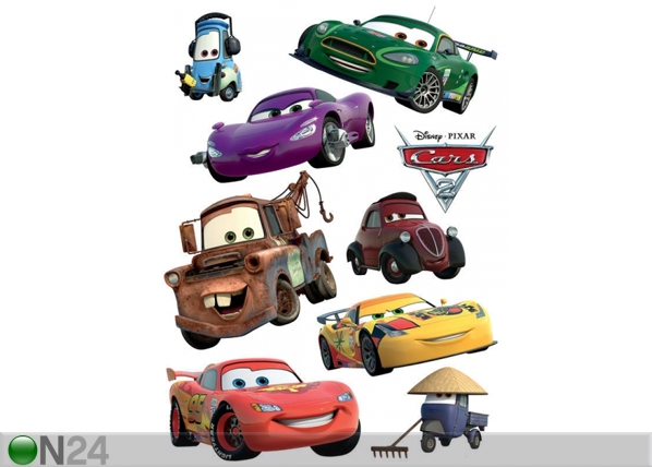 Seinakleebis Disney Cars 2 McQueen and Mater 65x85 cm ED-98785