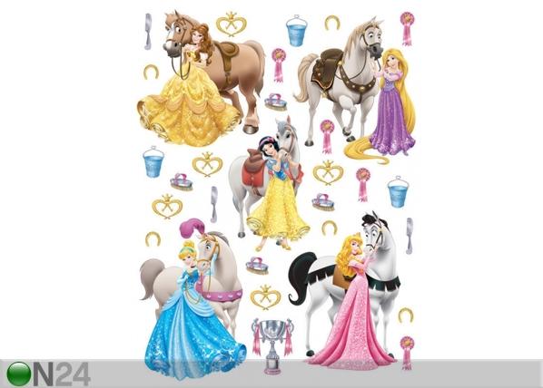 Seinakleebis Disney princesses and horses 65x85 cm ED-98817