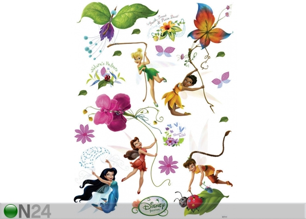 Seinakleebis Disney fairies 1, 65x85 cm ED-98831
