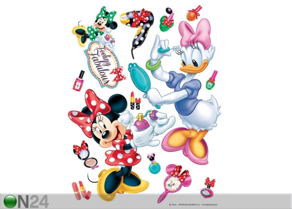 Seinakleebis Disney Minnie Makeup 65x85 cm ED-98858