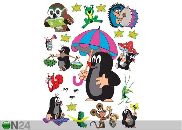 Seinakleebis Mole with umbrella 65x85 cm ED-98877
