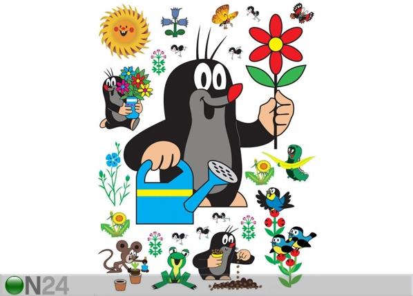 Seinakleebis Mole with flower 65x85 cm ED-98884