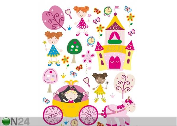 Seinakleebis Princess 1, 65x85 cm ED-98895