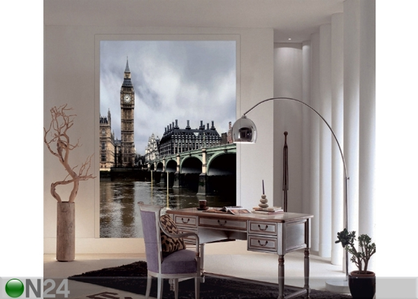 Fleece kuvatapetti LONDON BIG BEN 180x202 cm, AG Design