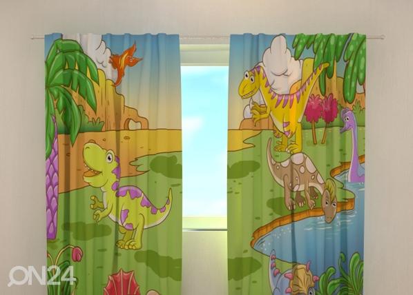 Pimendav kardin Little Dinosaurs 240x220 cm ED-99377