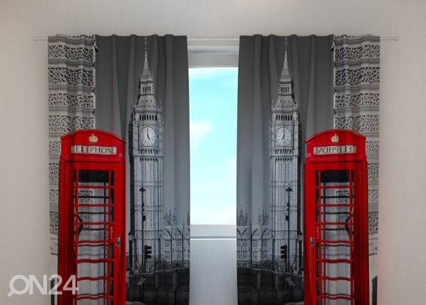 Poolpimendav kardin London telephone 240x220 cm ED-99396