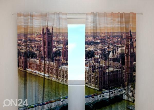 Läpinäkyvä verho LONDON 240x220 cm, Wellmira