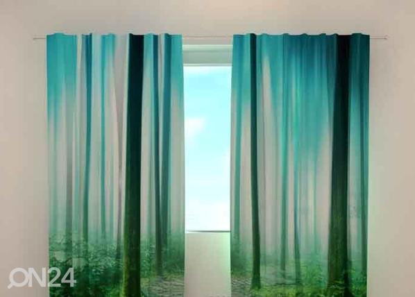 Läpinäkyvä verho MAGIC WOOD 240x220 cm, Wellmira