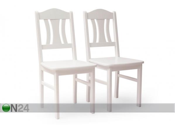 Tuolit Per, 2 kpl valkoinen, eco