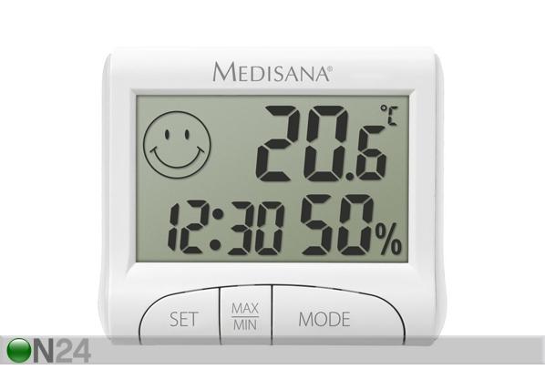 Sisälämpömittari-kosteusmittari MEDISANA HG 100 EL-99698
