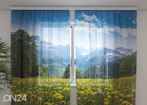 Sifonki-kuvaverho ALPS 240x220 cm ED-99942