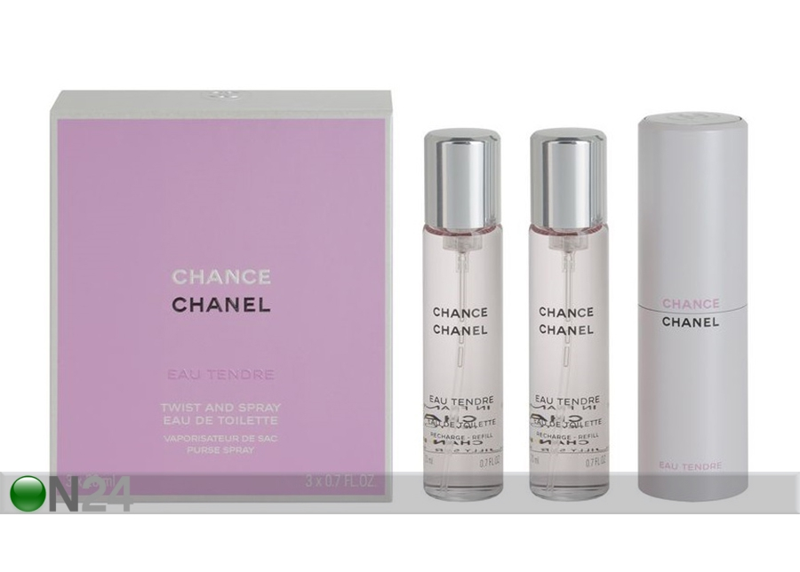 Chanel Chance Tendre EDT 3x20 ml NP-137883 - ON24 Sisustustavaratalo 362db78549