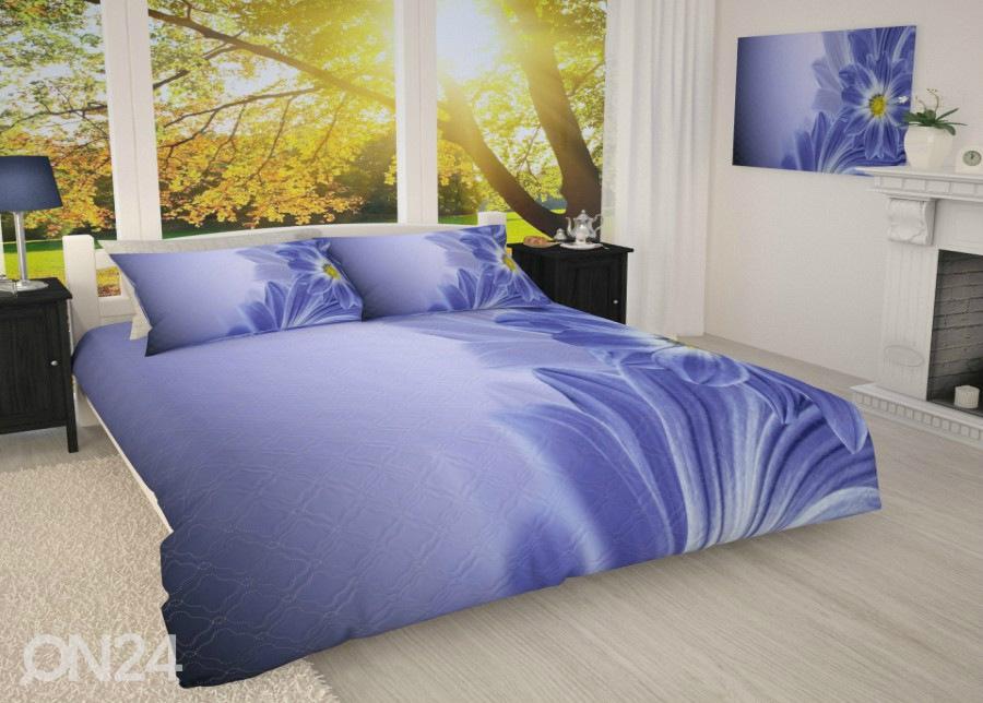 55034b70479 Voodikate Sinine lill 215x240 cm AÄ-183648 - ON24 Sisustuskaubamaja