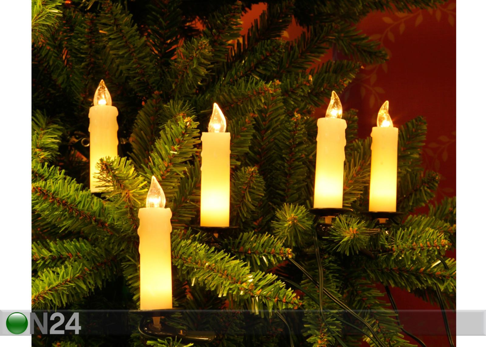 Свечи на елке в картинках