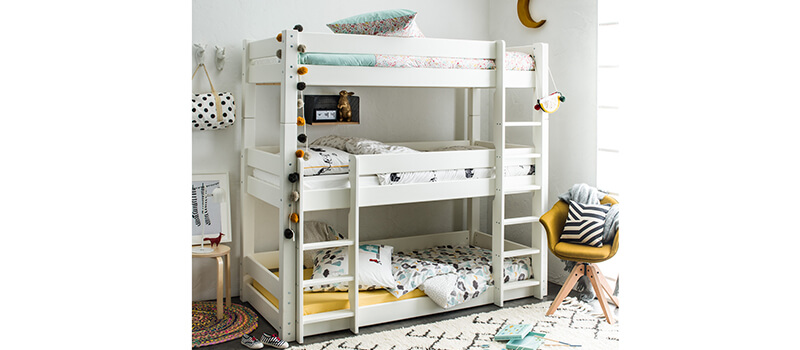3-ярусная кровать