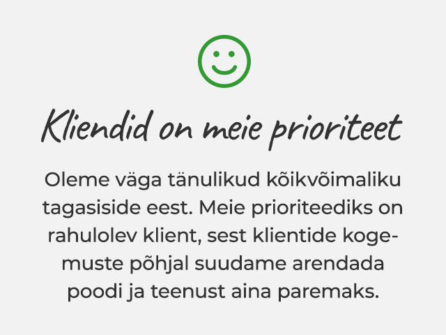 Klientide tagasiside