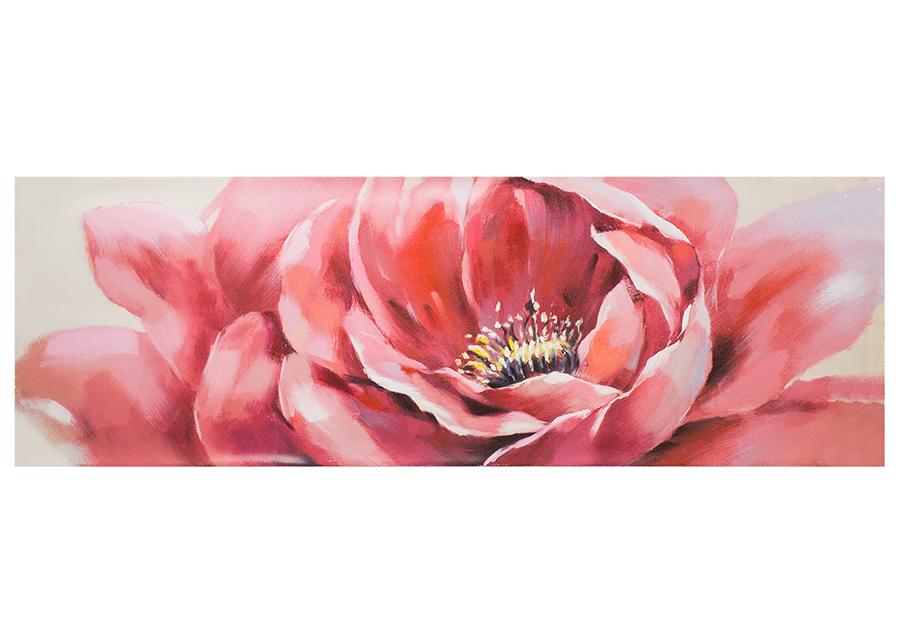 Öljymaalaus ROOSA KUKKA 50x150 cm