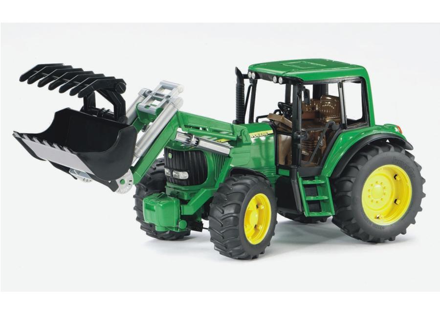 JOHN DEERE traktori kauhalla 1:16 BRUDER