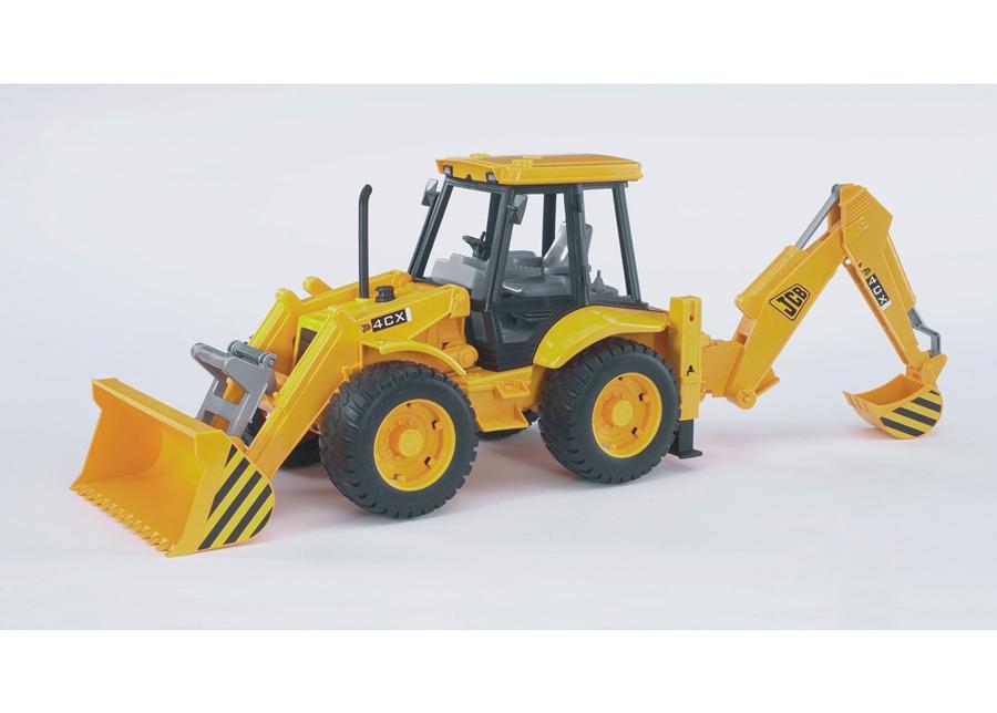 JCB 4CX traktori-kaivinkone 1:16 BRUDER