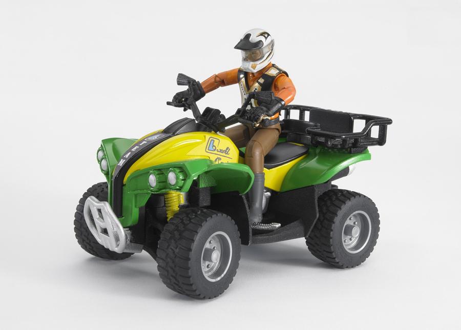 ATV ja kuljettaja 1:16 BRUDER