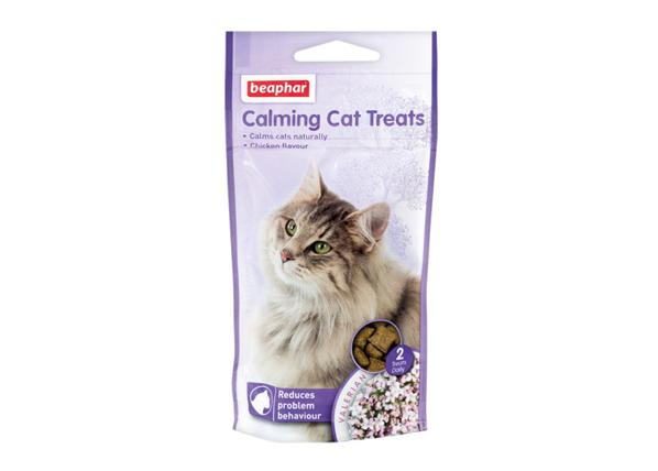 Rauhoittavat herkkupalat kissoille NO STRESS BEAPHAR