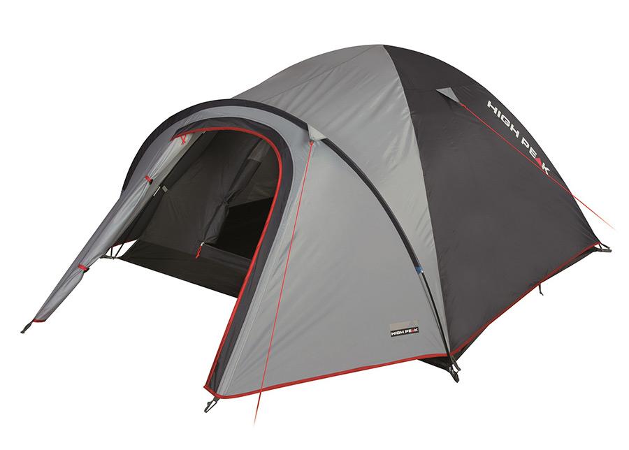 Teltta HIGH PEAK NEVADA 3 harmaa/tummanharmaa