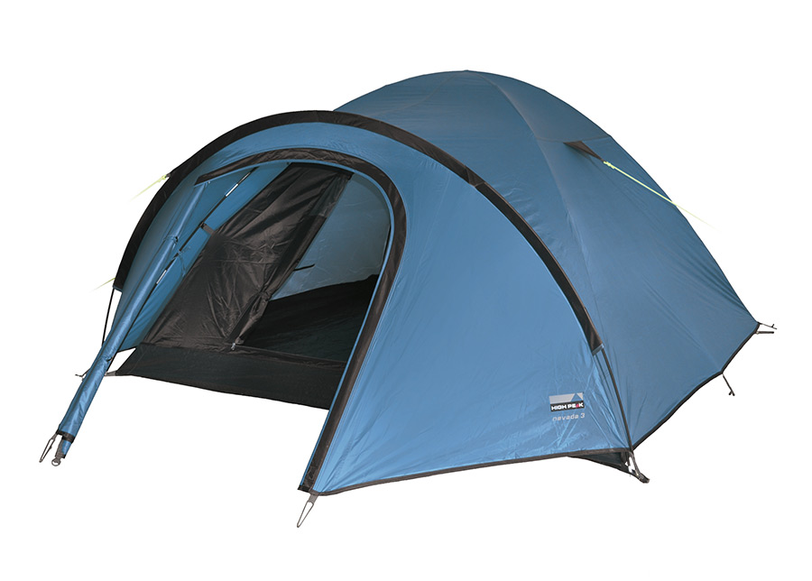Teltta HIGH PEAK NEVADA 3 sininen/tummanruskea