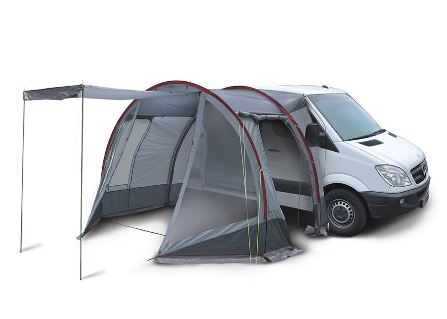 Pakettiauton teltta HIGH PEAK TRAVELLER harmaa/tummanharmaa