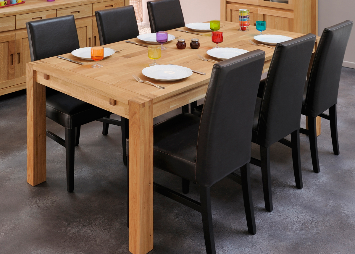 Ruokapöytä ETHAN 180x90 cm
