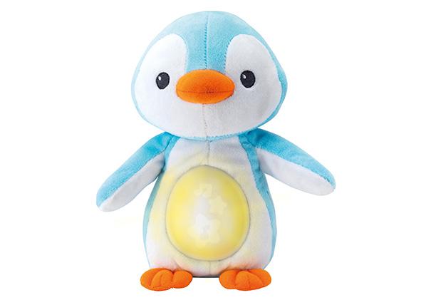 Pingviini äänellä ja valolla