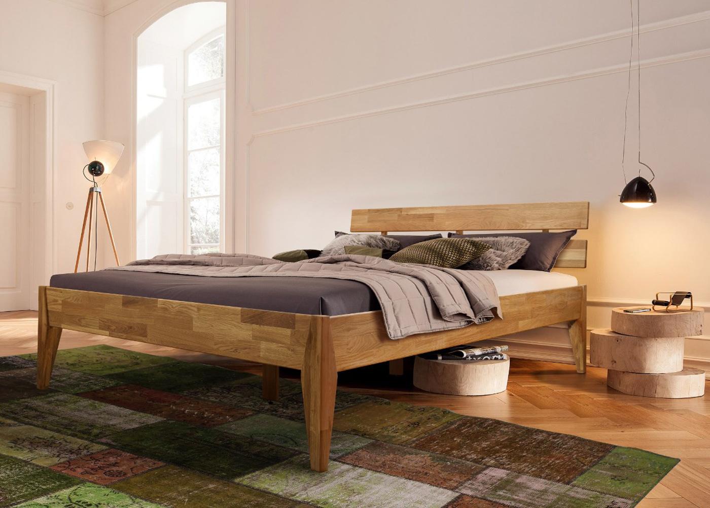 Tammi sänky ELKE 140x200 cm