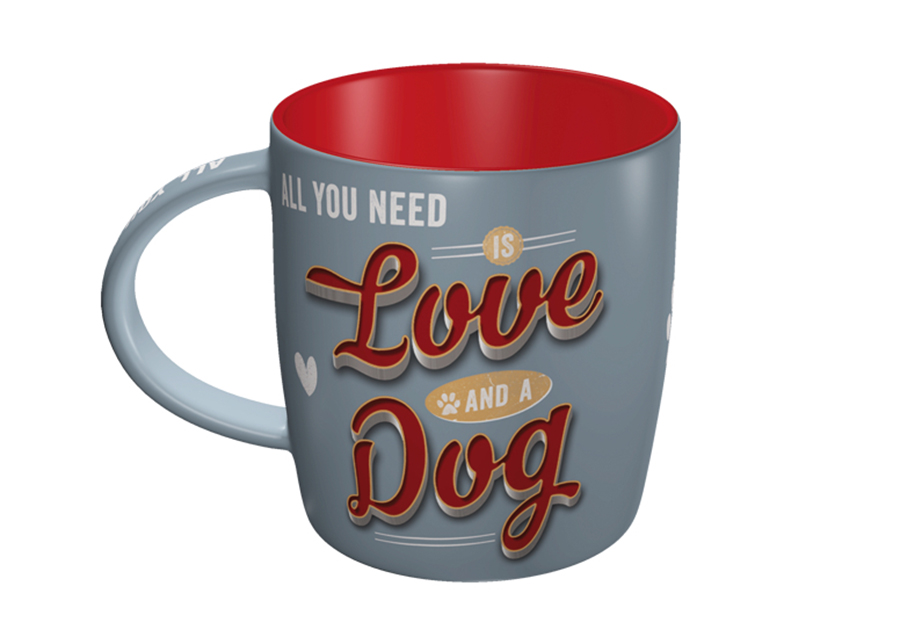 Muki ALL YOU NEED IS LOVE AND A DOG