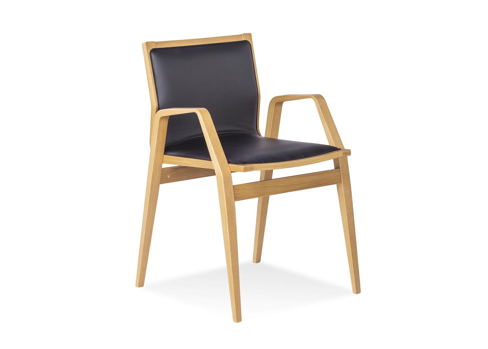 Tuoli MILONGA (tumma tammi + nahka)