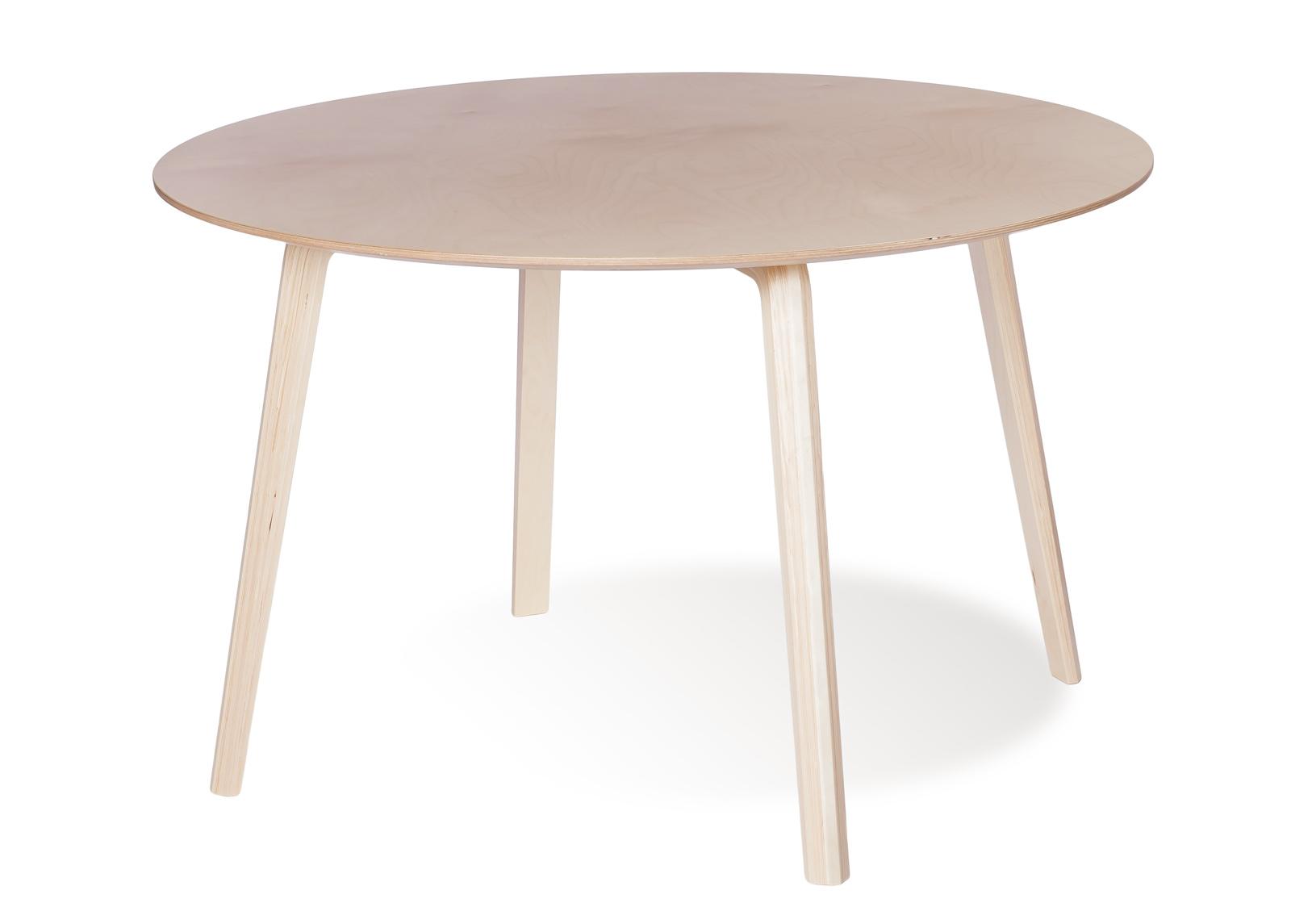 Ruokapöytä MILONGA Ø 120 cm (luonnollinen koivu)