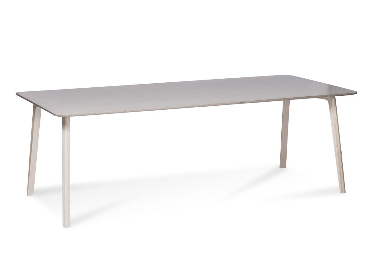 Ruokapöytä MILONGA 220x90 cm (petsattu koivu)