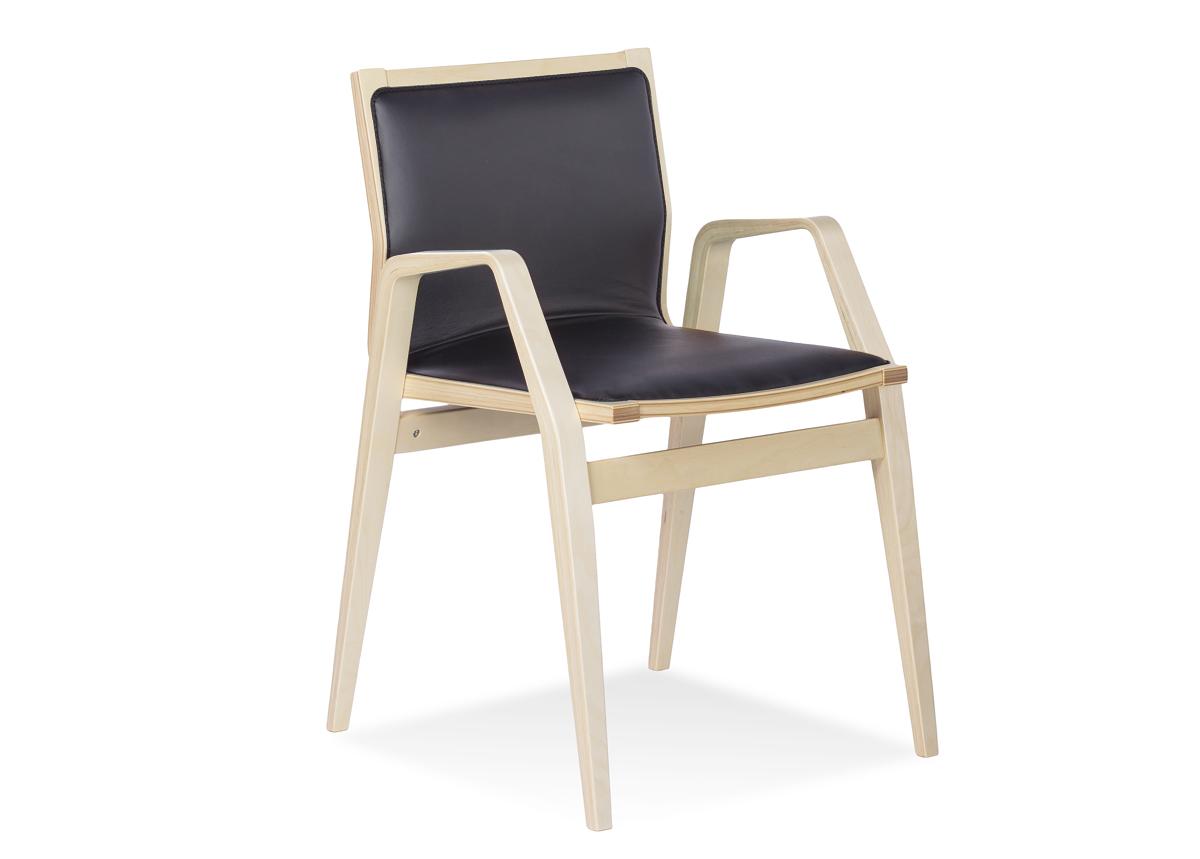 Tuoli MILONGA (koivu + nahka)