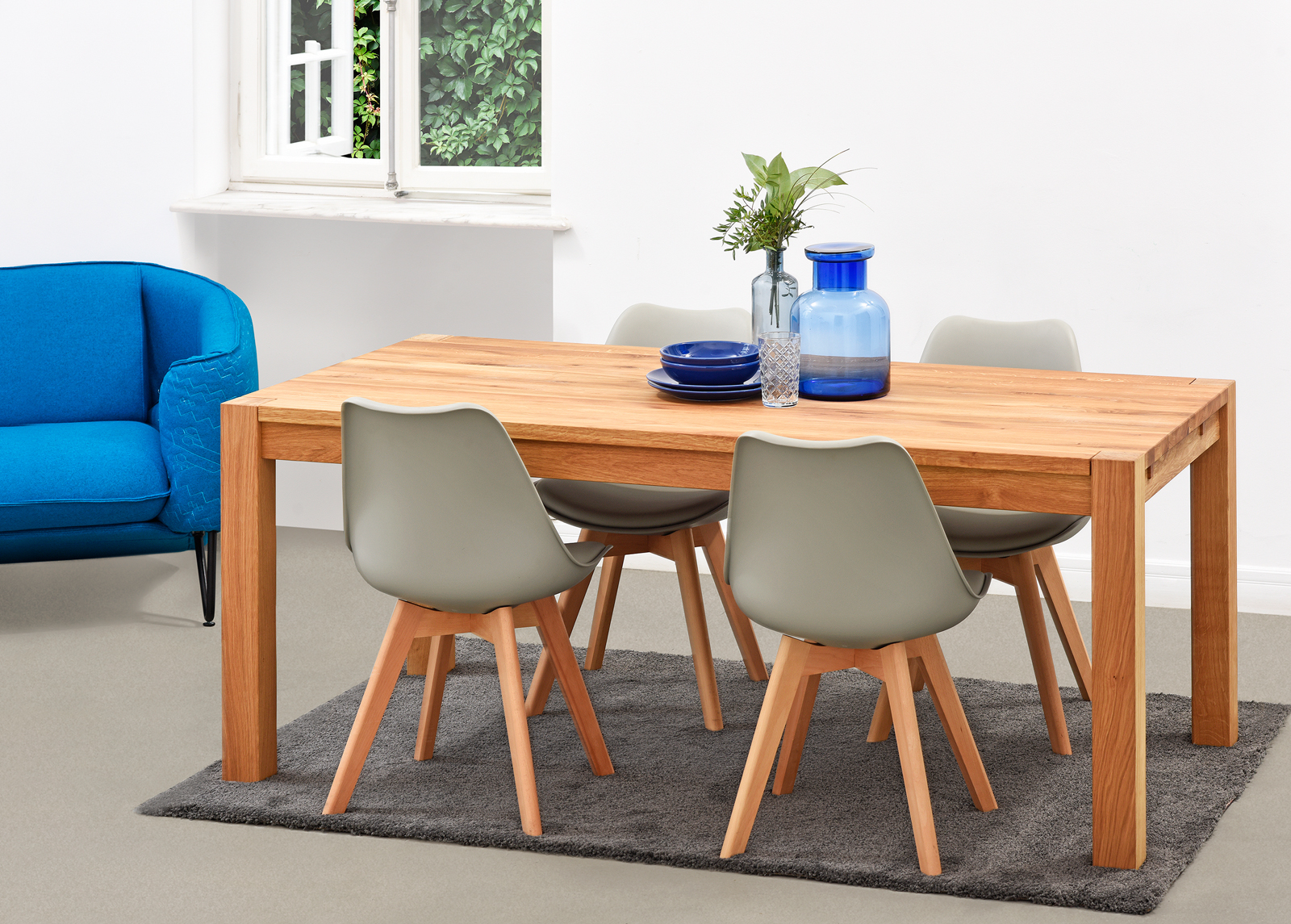 Ruokapöytä MATILDA 200x100 cm