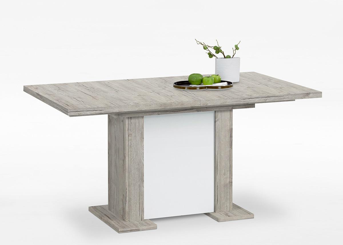 Jatkettava ruokapöytä BERCK 90x160/195/230 cm