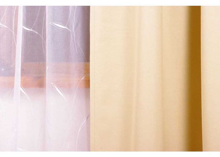Pimentävä sivuverho BLONDY 250x250 cm